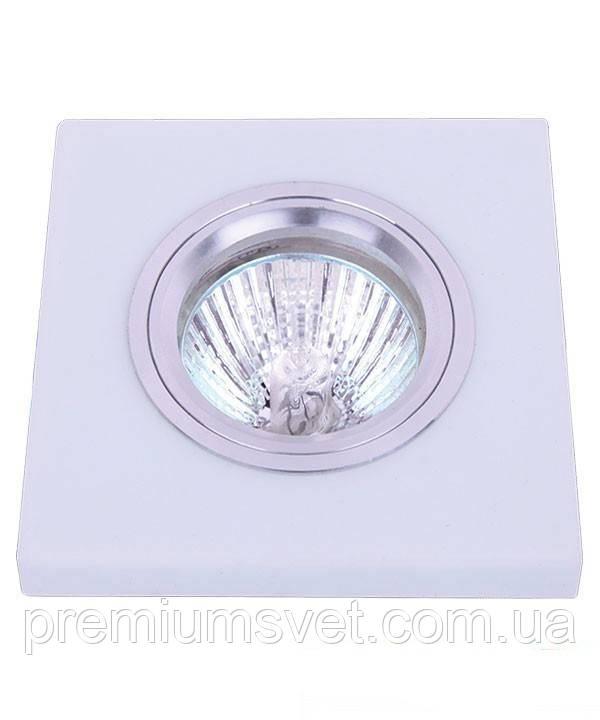 Стеклянный точечный светильник 705156 белый