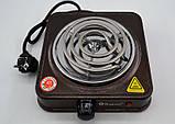Электроплита 1 комфорка спираль Domotec MS-5801 (1000 Вт), фото 3