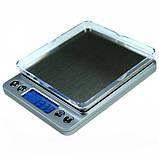 Ювелирные электронные весы с 2мя чашами 0,01-500гр, фото 3