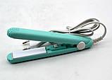 Выпрямитель, утюжок мини  для волос, фото 4