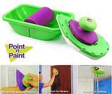 Кисть-плашка для покраски Пойнт энд Пейнт Point and Paint, фото 3
