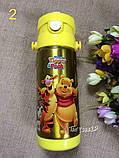 Детский термос, термос-поилка с трубочкой 500мл разные расцветки, фото 2
