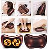 Массажная Подушка Massage Pillow QY-8028, Роликовый массажер для спины и шеи, фото 3