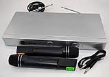 Радиосистема на 2 микрофона Semtoni SH-80, фото 2