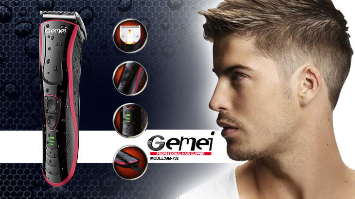 Машинка для стрижки волос Gemei GM 792