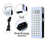 Светодиодный аккумуляторный фонарь YJ-6816, фото 2