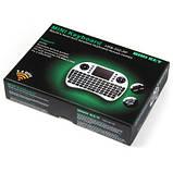 UKB-500-RF 2.4 ГГц мини беспроводная клавиатура со светодиодным индикатором, тачпадом, фото 6