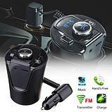 Автомобильный FM трансмиттер модулятор H26+ВТ с Bluetooth MP3, фото 2