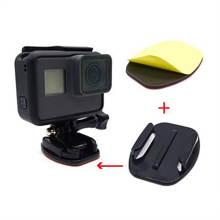 Клеяться майданчик на рівну поверхню для екшн-камер, фото 2