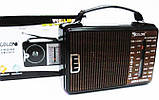 Радиоприемник GOLON RX-608ACW, всеволновой радиоприемник, радиоприемник golon AM/FM/TV/SW1-2, фото 2
