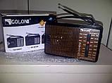 Радиоприемник GOLON RX-608ACW, всеволновой радиоприемник, радиоприемник golon AM/FM/TV/SW1-2, фото 4