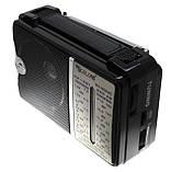 Всехвильовий радіоприймач Golon RX-606ACW, AM/FM/TV/SW1-2, 5-ти хвильовий, фото 2