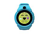 Детские наручные смарт часы Smart Baby Watch A17 Голубой, фото 2