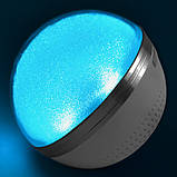 Bluetooth-колонка M8 перламутр, speakerphone, шар, фото 4