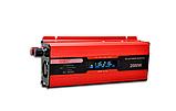 Преобразователь тока AC/DC с LCD дисплеем UKC 2000W KC-2000D / Автомобильный инвертор 2000W, фото 2