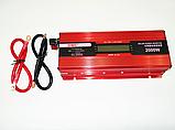 Преобразователь тока AC/DC с LCD дисплеем UKC 2000W KC-2000D / Автомобильный инвертор 2000W, фото 4