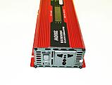 Преобразователь тока AC/DC с LCD дисплеем UKC 2000W KC-2000D / Автомобильный инвертор 2000W, фото 7