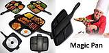 Сковорода гриль с антипригарным покрытием Magic Pan на 5 секций, фото 6