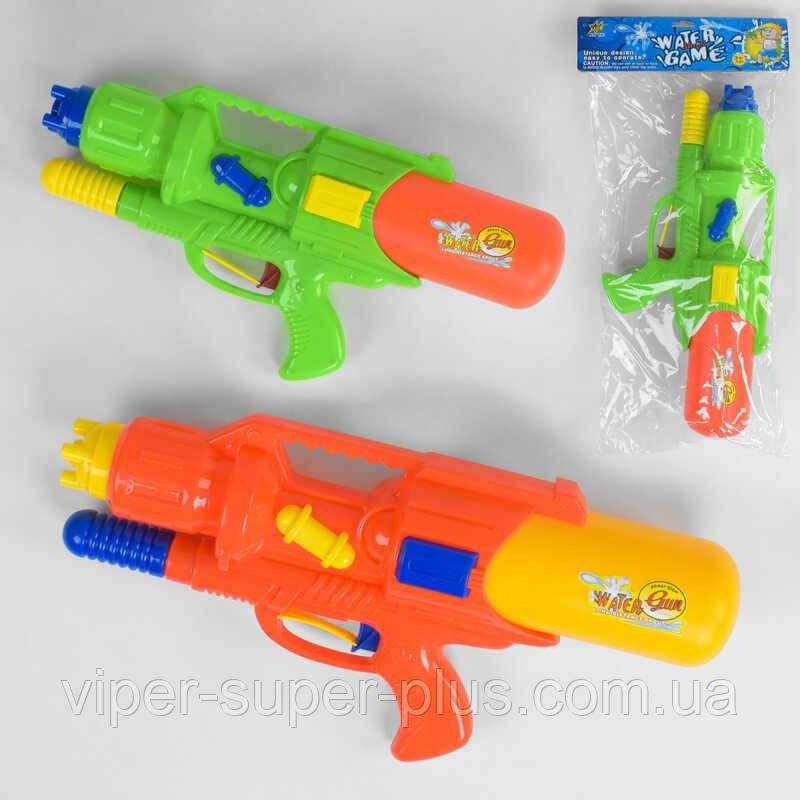 Водный пистолет М 878 (36/2) 2 цвета, в кульке