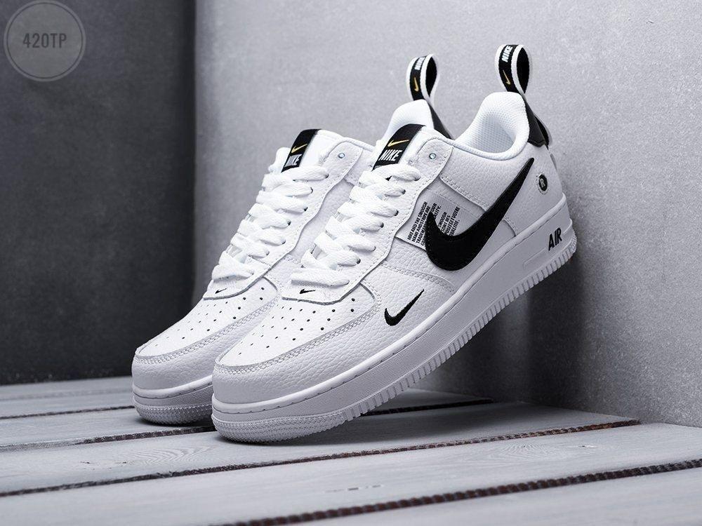 Мужские кроссовки Nike Air Force Low White/Black top