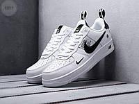 Мужские кроссовки Nike Air Force Low White/Black top, фото 1