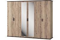 Шкаф 6Д Палермо Світ Меблів