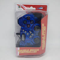 Игровой манипулятор TURBO USB GAMEPAD DJ-906 джойстик для ПК Синий