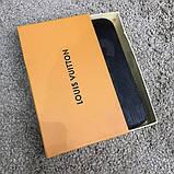 Портмоне-клатч Louis Vuitton SUPREME с кнопкой, фото 4