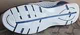 Кроссовки мужские сетка кожаные (нубук) от производителя модель ЭД12, фото 5