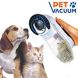Машинка для вычесывания шерсти животных Pet Vacuum, фото 6