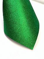 Картон с глиттером (блестками), зелёный