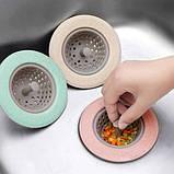 Силиконовый кухонный фильтр для раковины Supretto, фото 6