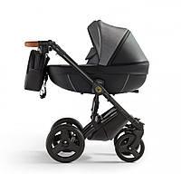 Детская универсальная коляска 2 в 1 с усиленными амортизаторами Verdi Orion Digital, чёрная