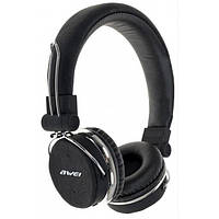 Bluetooth стерео наушники AWEI A700BL Чёрные, фото 1