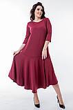 Женское Платье из трикотажа Батал, фото 5