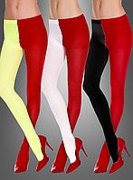 Красно-черные женские колготки
