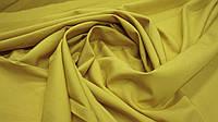 Одежная ткань софт однотонный кукурузный цвет