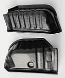 Пластиковые защитные накладки на внутренние колесные арки для Citroen Nemo 2007+, фото 4