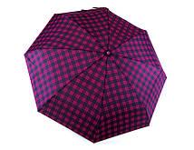 Складана парасоля механіка, фуксія, поліестр/карбон Арт.5028 RST (Китай) (Зонт жіночий, фуксія, механіка, поліестер/карбон)
