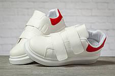 Кроссовки женские 17172, MkQueen, белые, < 36 37 38 39 40 > р. 36-23,0см., фото 3