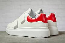 Кроссовки женские 17172, MkQueen, белые, < 36 37 38 39 40 > р. 36-23,0см., фото 2