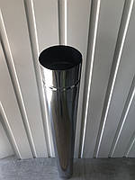 Труба из нержавеющей стали для дымоходов ф 220 0.5 мм