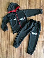Спортивный костюм для мальчика черный Тommy hilfiger на рост 104