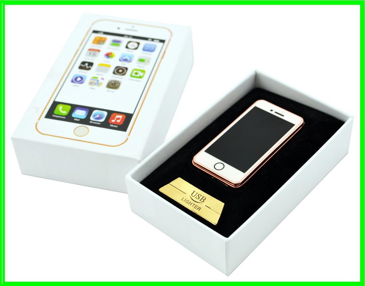 ✅ Электрическая USB Зажигалка iPhone на Аккумуляторе (ВидеоОбзор)