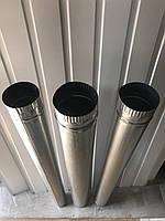 Труба из оцинкованный стали для дымоходов ф110 0.5 мм