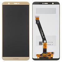 Дисплей (LCD) Huawei P Smart (2017) | Enjoy 7s | FIG-LX1 | FIG-L21 | FIG-L31 с тачскрином, золотой