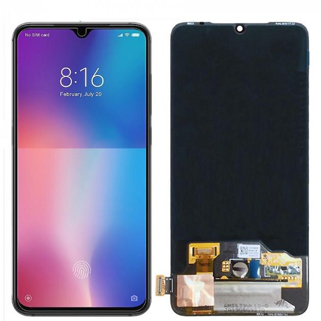 Дисплей (LCD) Xiaomi Mi A3 | MiA3 | CC9e TFT с тачскрином, чёрный
