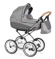 Детская классическая коляска ROAN Emma 2 в 1, серая (7093)