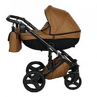 Детская универсальная коляска  2 в 1 Verdi Mirage 07, коричневая