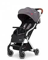 Прогулочная детская коляска легкая с алюминиевой рамой Euro-Cart Spin, серый